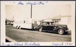 1945 photo trailer & auto