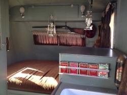 1937 Packard Motorhome Interior