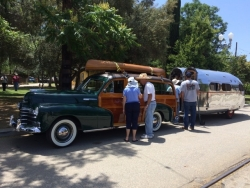 Con & Carole's BOlus Road CHief, Woodie & Vintage Canoe