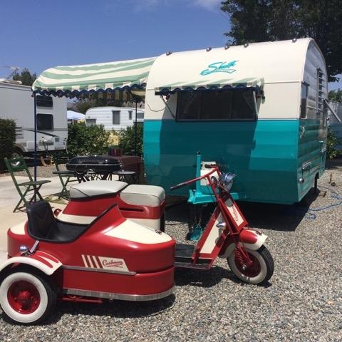 Shasta & Cushman Scooter