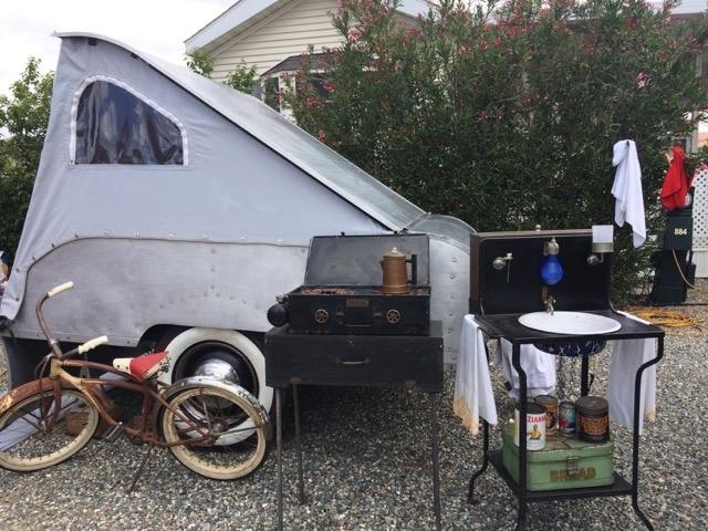 Tent Trailer Gilbert-Daniels Compound