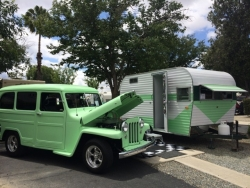 1965 Roadrunner & 1953 Willys Wagon