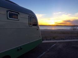 Shoreline camping