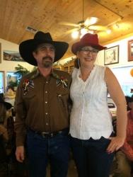 Our terrific Roundup hosts, Phil & Wendy Cervantes!