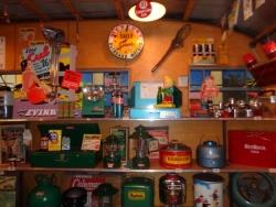 Interior sporting goods store...