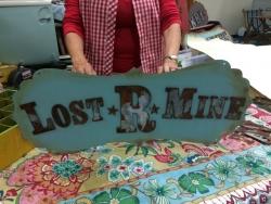 Linda's clever vintage signs