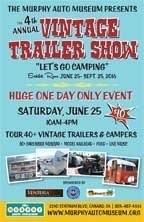 Vintage Trailer Show flyer