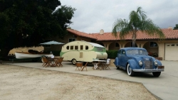 1937 Old Town Boat, 1936 Airstream Silver Cloud, 1937 Chrysler Airflow
