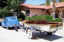 1937 Old Town Boat makes it home...