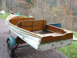 1937 Old Town Boat