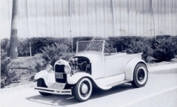 Chuck's 1929 Roadster Pickup picture c. 1961