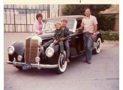 1952 Mercedes Cabriolet picture c.1975