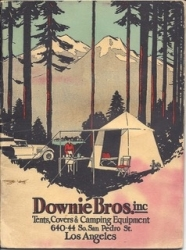 Downie Bros.. inc. early umbrella tent
