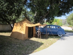 Tent and Auto