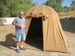 This may be Chuck's favorite tent...