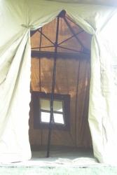 Umbrella Tent Door