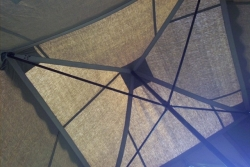 Umbrella Tent Interior