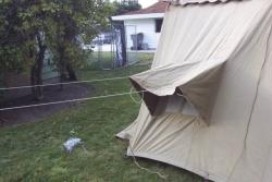 Umbrella Tent Rear