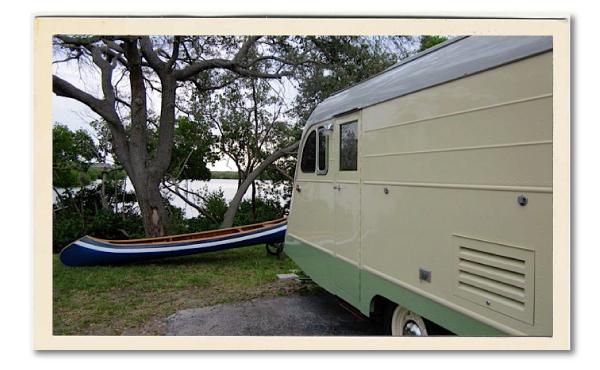 vintage trailer camp roadtrippin