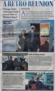 Lake Havasu Vintage Rally 2articlenewspaper article