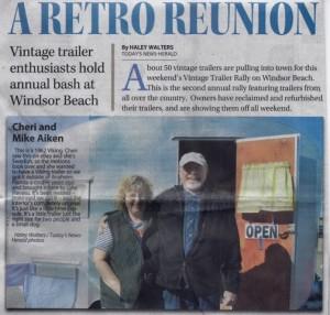 Lake Havasu Vintage Rally 2articlenewspaper article - Version 3