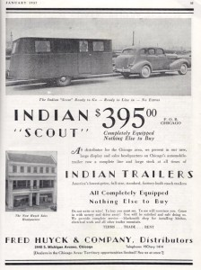Indian Scout 1937 Advertisement 1