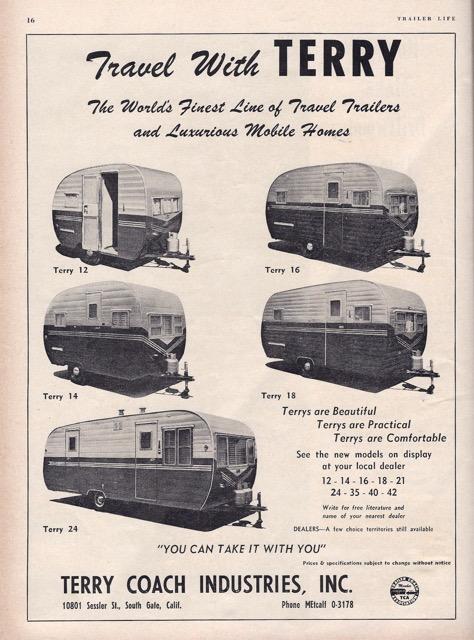 Trailer Life Magazine May 1954 Vintage Trailer Camp