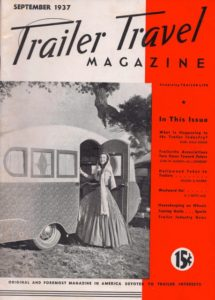 Trailer Travel September 1937