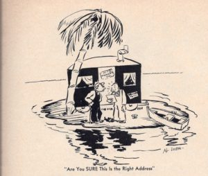 May 1937 Trailer Topics mag cartoon issue 1, no 1Western (Westcraft)