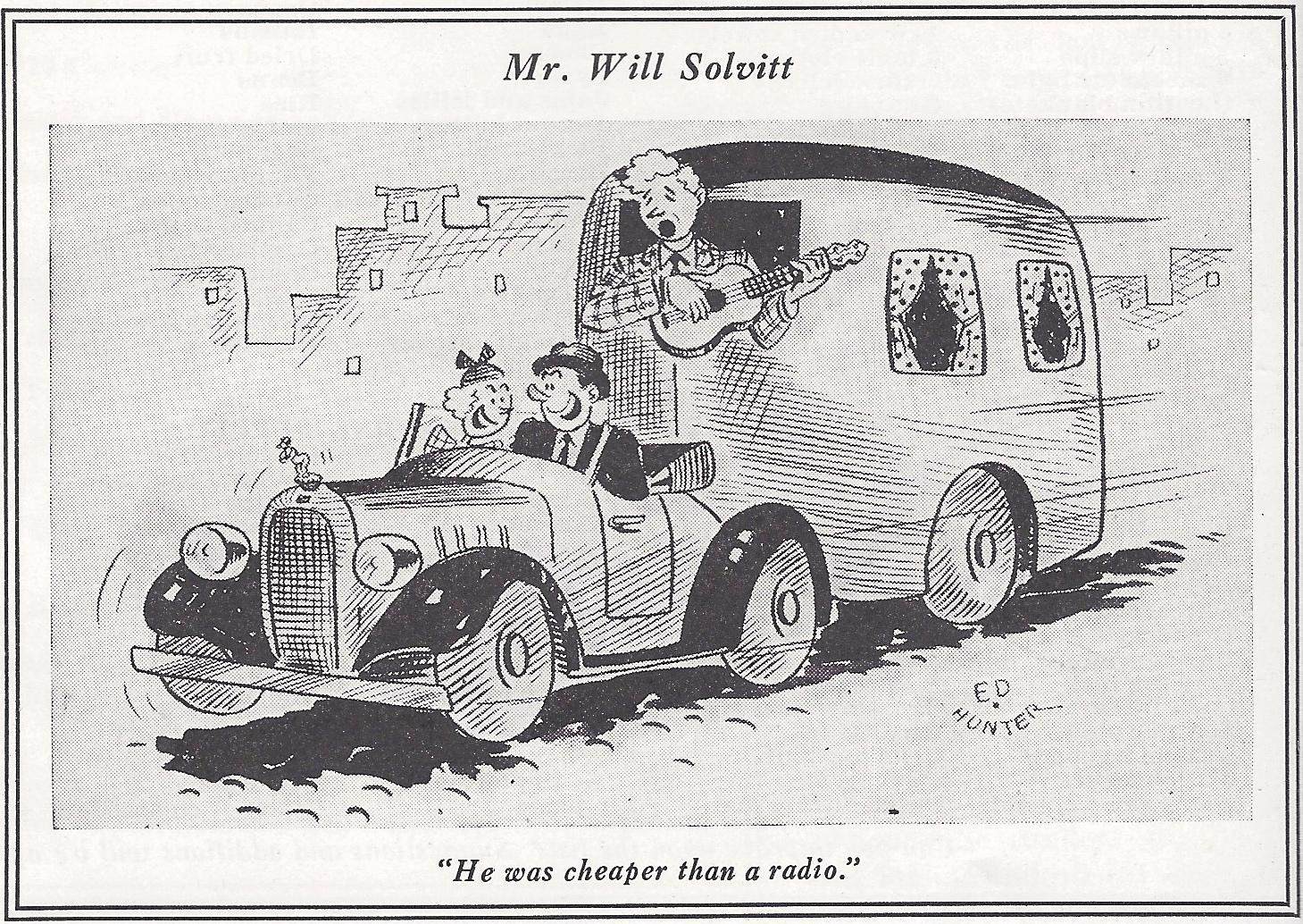 VIntage Trailer Funnies 1937 - Vintage Trailer Camp