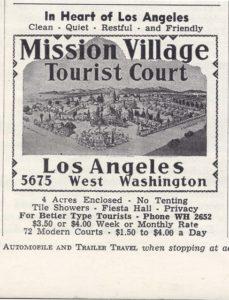 mission village adv t travel mag 1941Vagabondcartoon issue 1, no 1_2