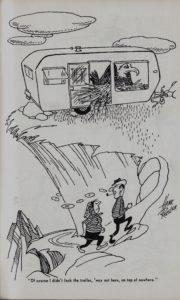Trailer ways & Daze 1955 cartoons pages 1
