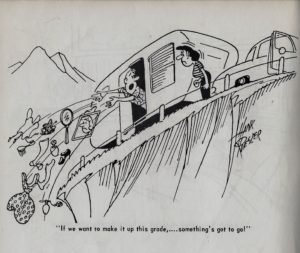 Trailer ways & Daze 1955 cartoons pages 1