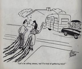 Trailer ways & Daze 1955 cartoons pages 2