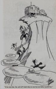 Trailer ways & Daze 1955 cartoons pages