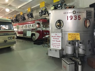 A visit to the Jack Sisemore RV MUSEUM * Amarillo, Texas